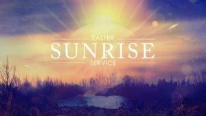 Youth-Led Easter Sunrise Service and Breakfast