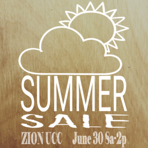 Summer Sale @ Zion United Church of Christ | Indianapolis | Indiana | United States