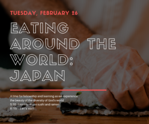 Eating Around the World: Japan