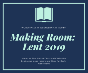 Wednesday Lenten Worship