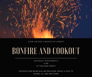 Bonfire and Cookout