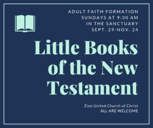 Little Books of the New Testament - Adult Faith Formation Class