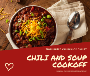Annual Chili and Soup Cookoff