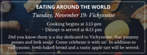Eating Around the World: Vichyssoise Day