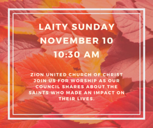 Laity Sunday